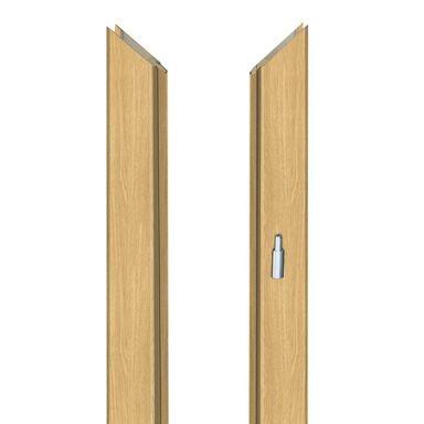 Ościeżnica regulowana do skrzydeł bezprzylgowych 90 Prawa Dąb piaskowy 140 - 180 mm Artens