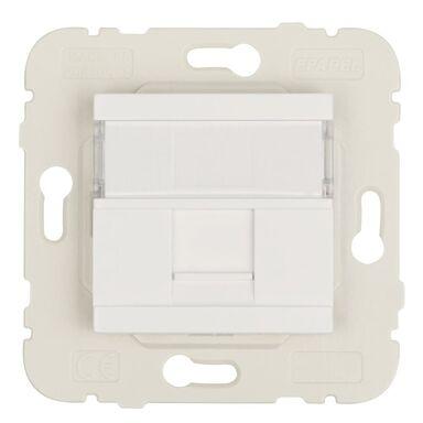Gniazdo komputerowe QUADRO 45 Biały  EFAPEL