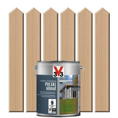 Lazura do drewna POLSKI KLIMAT WSPÓŁCZESNA 0,75 lOdymiony świerk V33