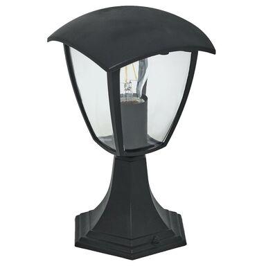 Lampa ogrodowa stojąca FOX IP44 30 cm czarna E27 MILAGRO