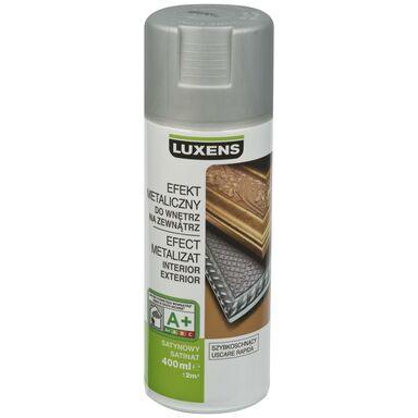 Spray METALICZNY Srebrny 0,4 l  LUXENS