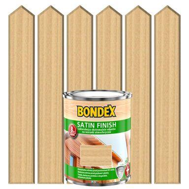Lakierobejca do drewna SATIN FINISH 0.75 l  Bezbarwny BONDEX