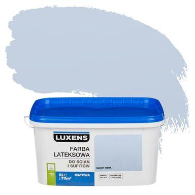Farba wewnętrzna DO ŚCIAN I SUFITÓW 5 l Błękit nieba LUXENS