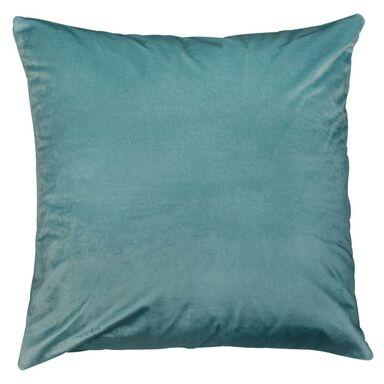 Poduszka welurowa TONY jasnoniebieska 45 x 45 cm INSPIRE