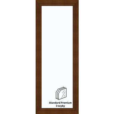 Okno PCV 3-szybowe balkonowe OB7 Złoty dąb 865 x 2295 mm