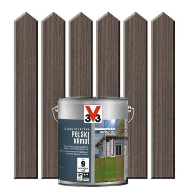 Lazura do drewna POLSKI KLIMAT WSPÓŁCZESNA 0,75 l V33
