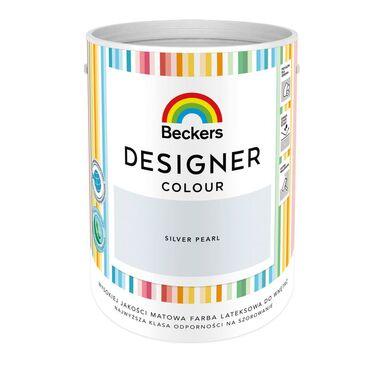 Farba wewnętrzna DESIGNER COLOUR 5 l Silver Pearl BECKERS