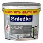 Farba podkładowa GRUNT lateksowa 10 l + 10% gratis ŚNIEŻKA