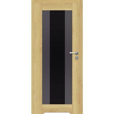 Skrzydło drzwiowe bezprzylgowe z podcięciem wentylacyjnym Kendo Dąb piaskowy 90 Prawe Artens