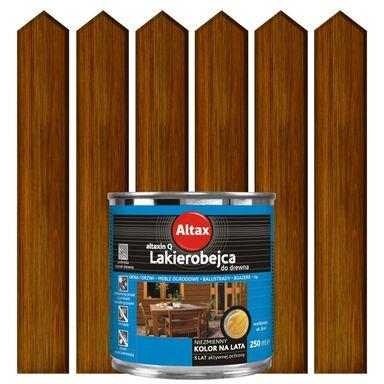 Lakierobejca do drewna 0.25 l  Orzech ALTAX