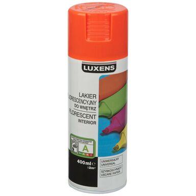 Spray FLUORESCENCYJNY 0.4 l Pomarańczowy LUXENS