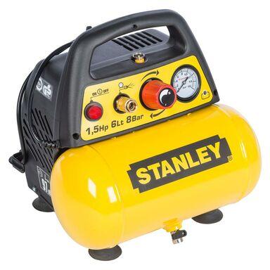 Kompresor Bezolejowy Stanley 6 L 8 Bar C6bb34stn039 Kompresory W Atrakcyjnej Cenie W Sklepach Leroy Merlin