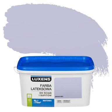 Farba wewnętrzna do ścian i sufitów EMULSJA 5 l Zapach bzu LUXENS