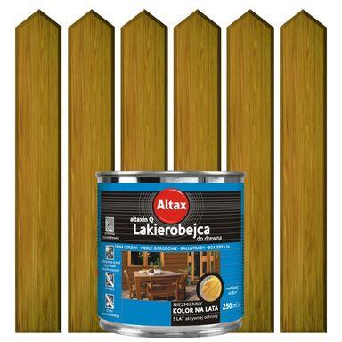 Lakierobejca do drewna 0.25 l  Dąb ALTAX