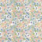 Okleina ROMANTIC niebieska 45 x 200 cm w kwiaty