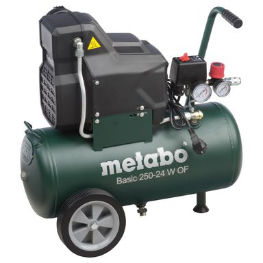 Kompresor bezolejowy BASIC 250-24 W OF METABO