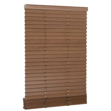 Żaluzja drewniana 100 x 150 cm dąb 27 mm Inspire
