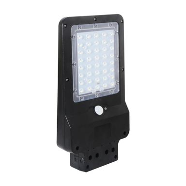 Lampa solarna STREET IP65 czarna EKO-LIGHT