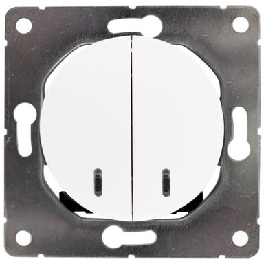 Włącznik pojedynczy SEU1025W  biały  DPM