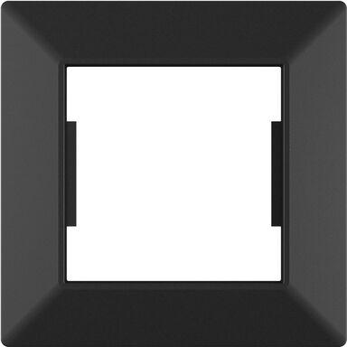 Ramka pojedyncza EDG1001B czarna LEXMAN