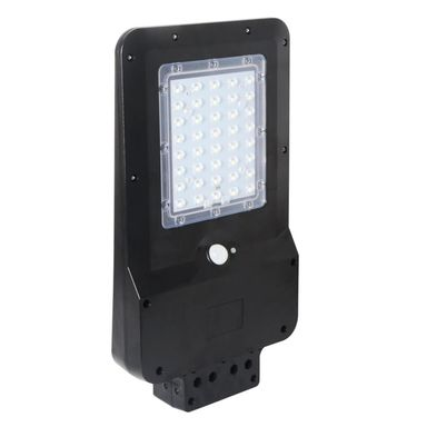 Lampa solarna STREET IP65 czarna EKO-LIGHT
