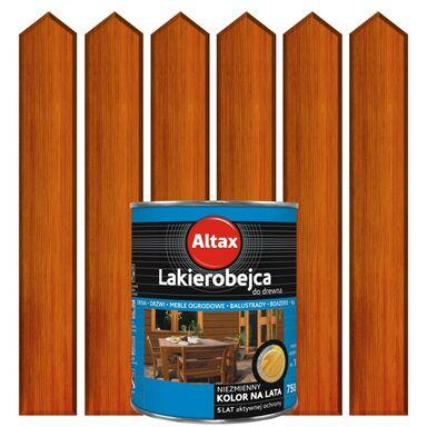 Lakierobejca do drewna 0.75 l  Kasztan ALTAX