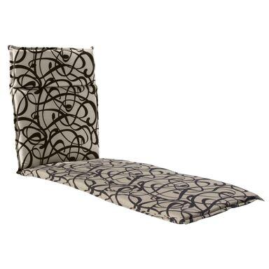 Poduszka na leżak 190 x 63 x 4.5 cm CINO brązowa