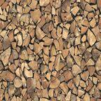 Okleina POLANA KOMINKOWE brązowa 45 x 200 cm imitująca drewno