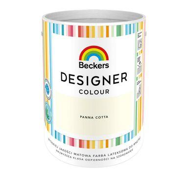 Farba wewnętrzna DESIGNER COLOUR 5 l Panna Cotta BECKERS