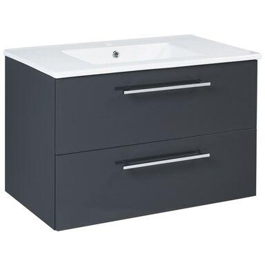 Zestaw mebli łazienkowych z umywalką 80 INTENSO SENSEA
