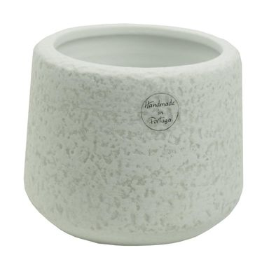 Osłonka ceramiczna 16 x 16 cm biała 985263 KAEMINGK