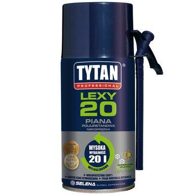 Piana montażowa LEXY 20 poliuretanowa niskoprężna 300 ml TYTAN