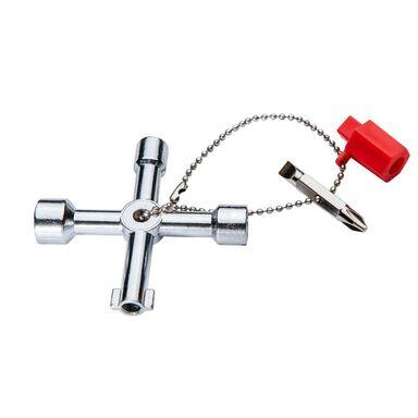 Kluczyk uniwersalny do szafek elektrycznych/hydraulicznych 02-001 NEO