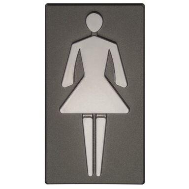 Znak informacyjny WC DAMSKIE