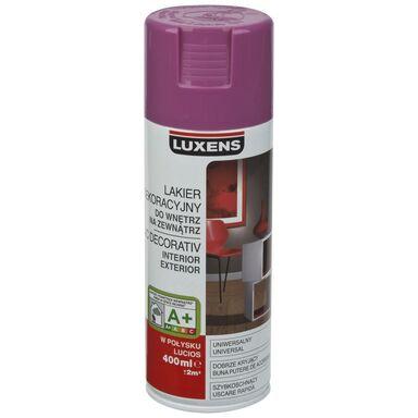 Spray KOLOR 0.4 l Liliowy Połysk LUXENS