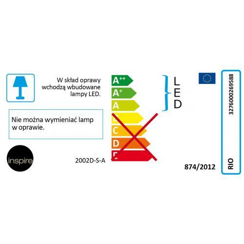 Panel led podszafkowy rio inspire systemy o wietleniowe - Panel led 60x60 leroy merlin ...