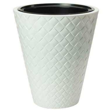 Doniczka plastikowa 40 cm biała MAKATA