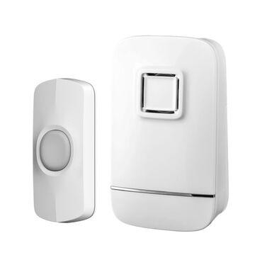 Dzwonek do drzwi bezprzewodowy biały LEXMAN