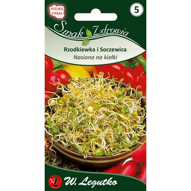 Rzodkiewka nasiona na kiełki 20 g W. LEGUTKO