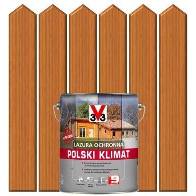 Lazura do drewna POLSKI KLIMAT 5 lSosna oregońska V33
