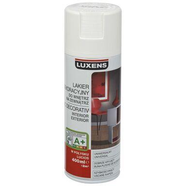 Spray KOLOR 0.4 l Biały Połysk LUXENS