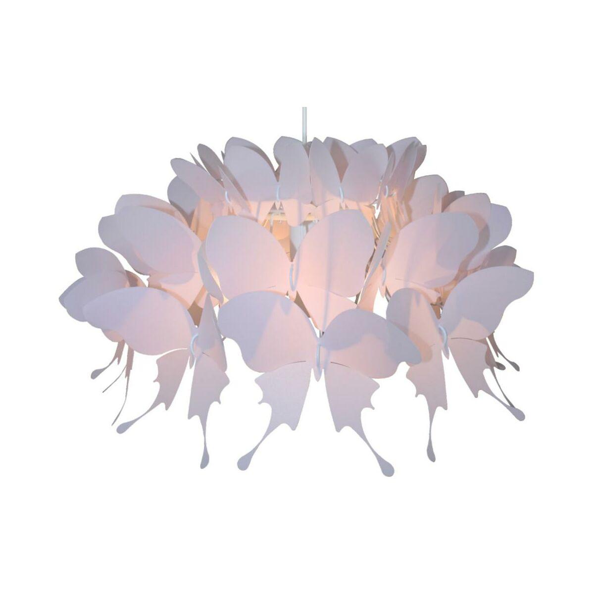 Lampa Wiszaca Farfalla Rozowa E27 Light Prestige Zyrandole Lampy Wiszace I Sufitowe W Atrakcyjnej Cenie W Sklepach Leroy Merlin