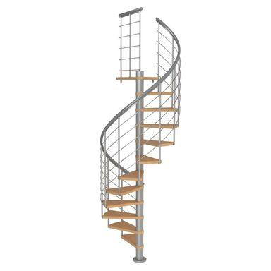 Schody spiralne MONTREAL Style Buk lity 120 cm DOLLE