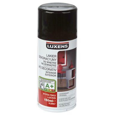 Spray KOLOR 0.15 l Czarny Połysk LUXENS