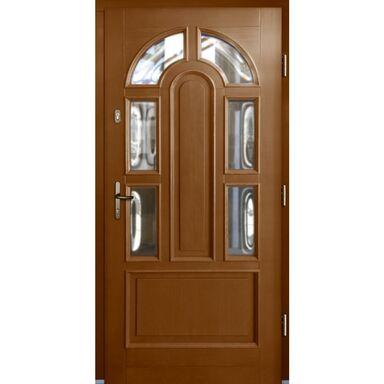 Drzwi wejściowe JUSTYNA VI Afromozja 90 Prawe