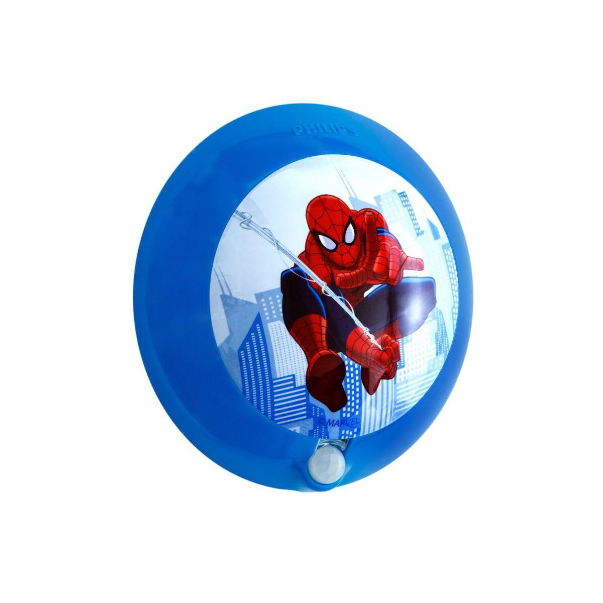 Lampka Nocna Z Czujką Ruchu Spiderman Disney Philips Kinkiety W
