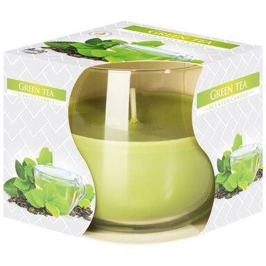 Świeca zapachowa w szkle GREEN TEA zielona herbata