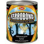 Farba antykorozyjna BEZPOŚREDNIO NA RDZĘ 0.8 l Stalowy FERROBOND