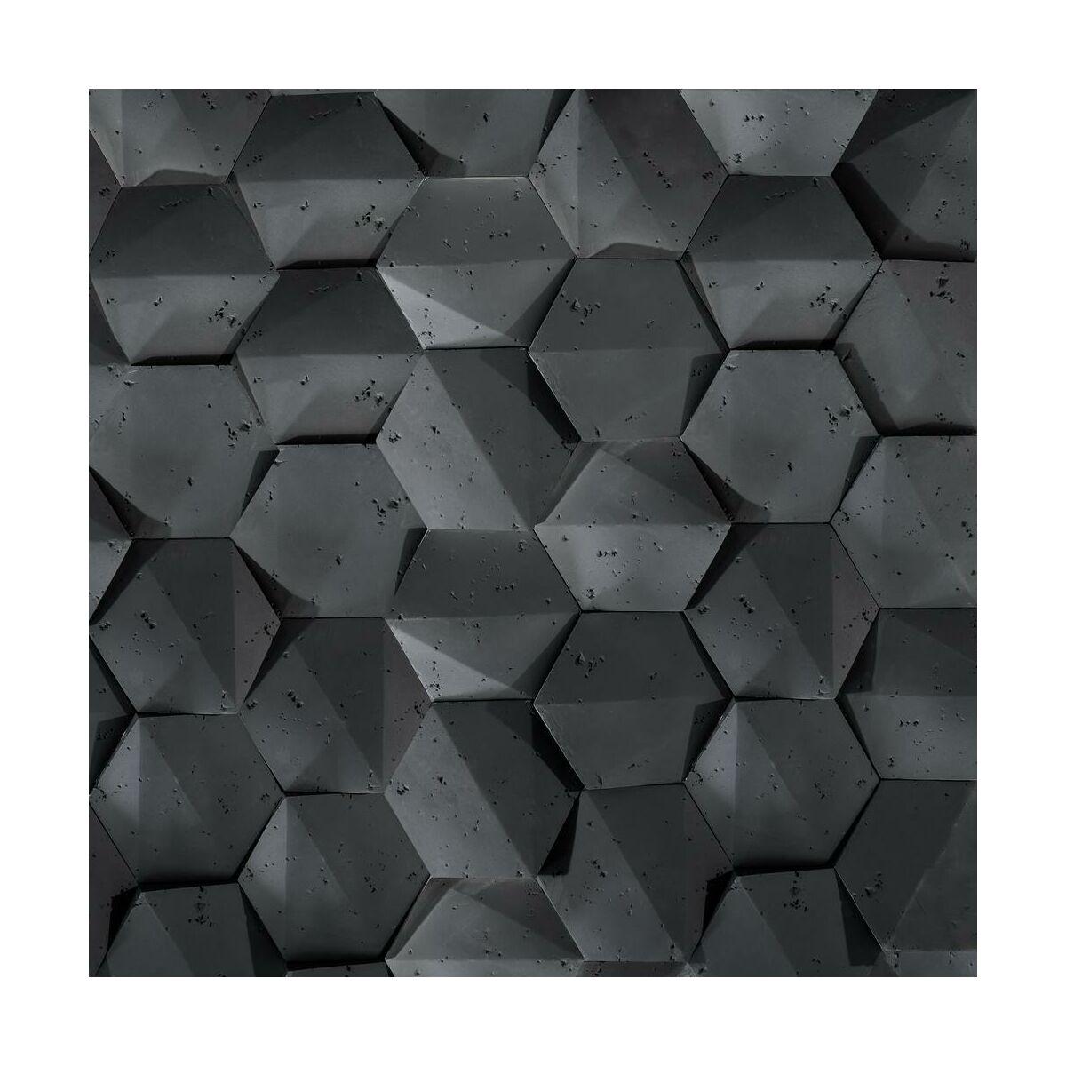 Kamień Dekoracyjny Playahexagon 3d Steinblau Kamień Elewacyjny I