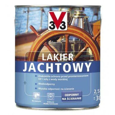 Lakier zewnętrzny do drewna JACHTOWY 0.75 l Bezbarwny V33